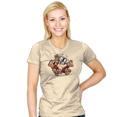 Teddy's Tapeburster Exclusive - Womens - T-Shirts - RIPT Apparel