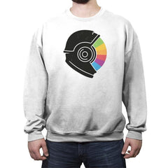 Kodachrome Space - Crew Neck Sweatshirt - Crew Neck Sweatshirt - RIPT Apparel