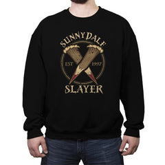 Sunnydale Slayer - Crew Neck Sweatshirt - Crew Neck Sweatshirt - RIPT Apparel