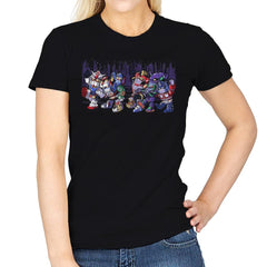 Where the Wild Mechs Are - Womens - T-Shirts - RIPT Apparel