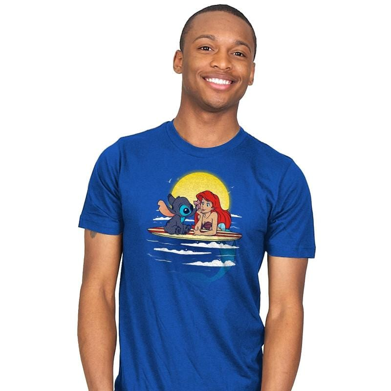 Aloha Mermaid - Mens - T-Shirts - RIPT Apparel