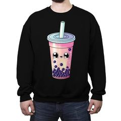 Bubble Tea - Crew Neck Sweatshirt - Crew Neck Sweatshirt - RIPT Apparel