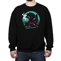 Cowboy in Space - Crew Neck Sweatshirt - Crew Neck Sweatshirt - RIPT Apparel