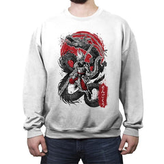 The Monkey King - Crew Neck Sweatshirt - Crew Neck Sweatshirt - RIPT Apparel