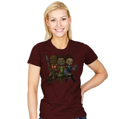 Panther Trio - Womens - T-Shirts - RIPT Apparel