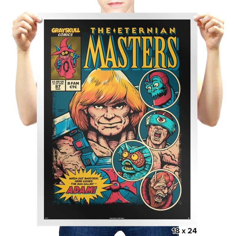 The Eternian Masters - Prints - Posters - RIPT Apparel