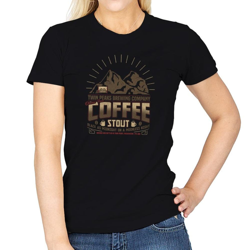 Damn Fine Coffee Stout Exclusive - Womens - T-Shirts - RIPT Apparel