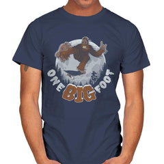 One Big Foot - Mens - T-Shirts - RIPT Apparel
