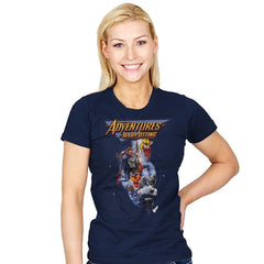 Steve's Adventure in Babysitting - Womens - T-Shirts - RIPT Apparel