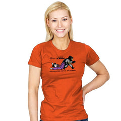 Go to Arkham  - Womens - T-Shirts - RIPT Apparel