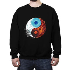 Ice and Fire - Crew Neck Sweatshirt - Crew Neck Sweatshirt - RIPT Apparel