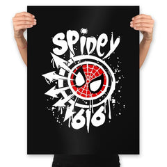 Spidey-616 - Prints - Posters - RIPT Apparel