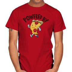 Powered By Pizza - Mens - T-Shirts - RIPT Apparel