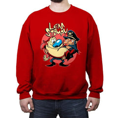 Lem & Stimpy - Crew Neck Sweatshirt - Crew Neck Sweatshirt - RIPT Apparel