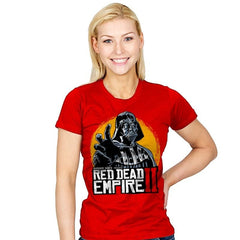 Red Dead Empire  - Womens - T-Shirts - RIPT Apparel