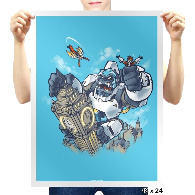 Winston Kong Exclusive - Prints - Posters - RIPT Apparel