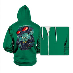 Black Manta Identity - Hoodies - Hoodies - RIPT Apparel