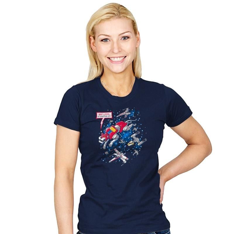 Red Lion, Standing By - Womens - T-Shirts - RIPT Apparel