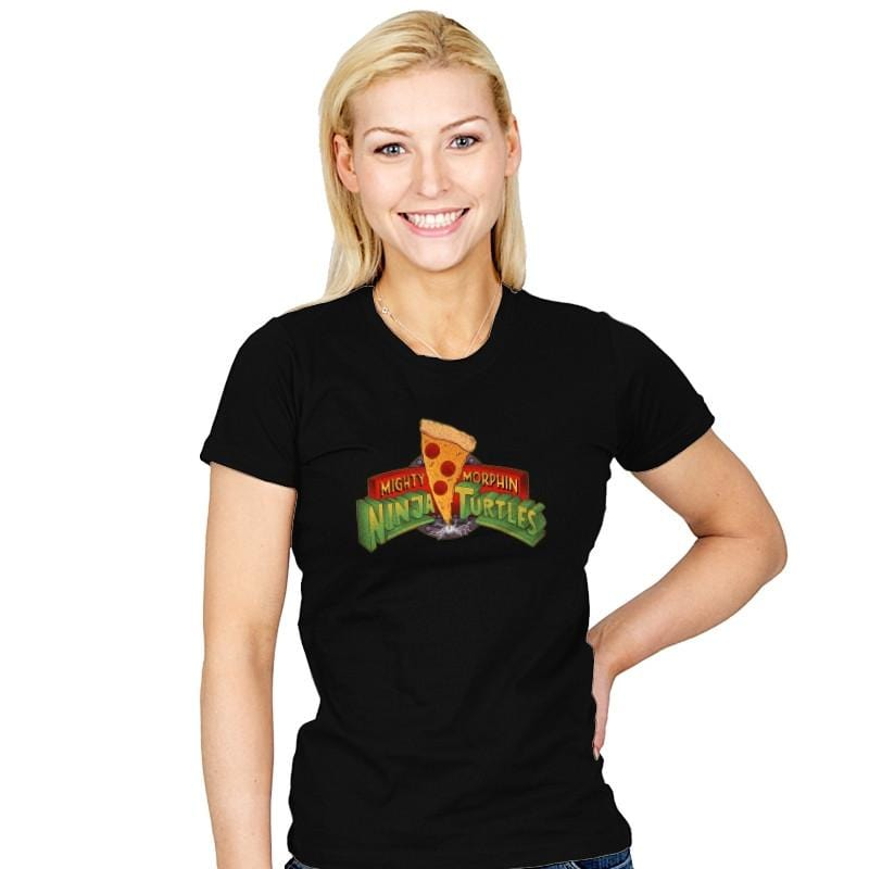 Mighty Morphin Ninja Turtles Exclusive - Womens - T-Shirts - RIPT Apparel