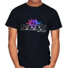 Angel Fantasy - Mens - T-Shirts - RIPT Apparel