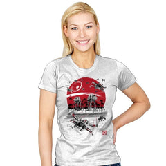 Battle on the Beach - Womens - T-Shirts - RIPT Apparel
