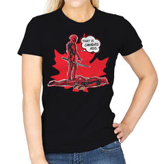 Canada's Ass - Womens - T-Shirts - RIPT Apparel