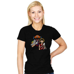 The Pirate Clown - Womens - T-Shirts - RIPT Apparel