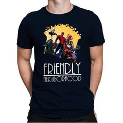 Friendly Neighborhood - Anytime - Mens Premium - T-Shirts - RIPT Apparel