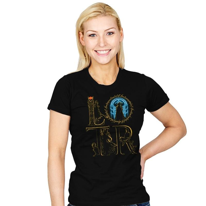 LOTR - Womens - T-Shirts - RIPT Apparel