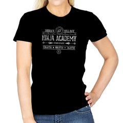 Ninja Academy Exclusive - Anime History Lesson - Womens - T-Shirts - RIPT Apparel