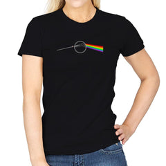 Dark Side of... That's NO MOON! Exclusive - Womens - T-Shirts - RIPT Apparel