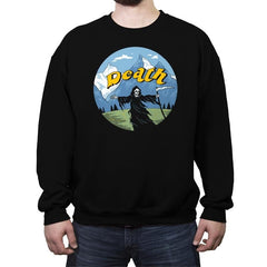 The Sound of Death - Crew Neck Sweatshirt - Crew Neck Sweatshirt - RIPT Apparel