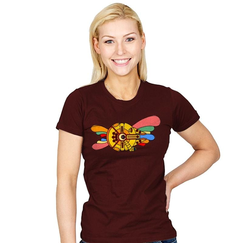 Yellow Hunk of Junk - Womens - T-Shirts - RIPT Apparel