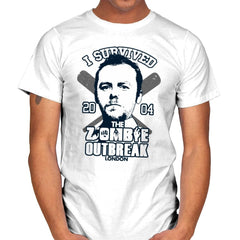I Survived The Zombie Outbreak - Anytime - Mens - T-Shirts - RIPT Apparel