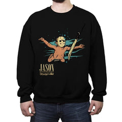 Smells Like Crystal Lake - Crew Neck Sweatshirt - Crew Neck Sweatshirt - RIPT Apparel