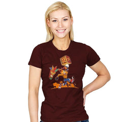 Crash Bash! - Womens - T-Shirts - RIPT Apparel