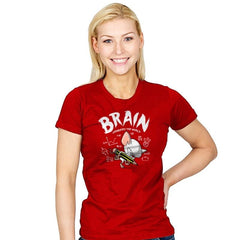 Brain Conquers The World! - Womens - T-Shirts - RIPT Apparel