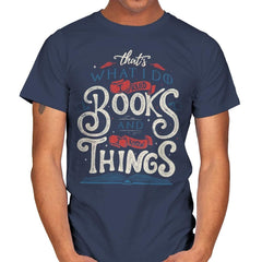 I Read Books - Mens - T-Shirts - RIPT Apparel
