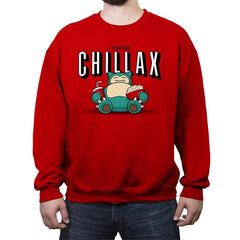 Chillax like a... - Crew Neck Sweatshirt - Crew Neck Sweatshirt - RIPT Apparel