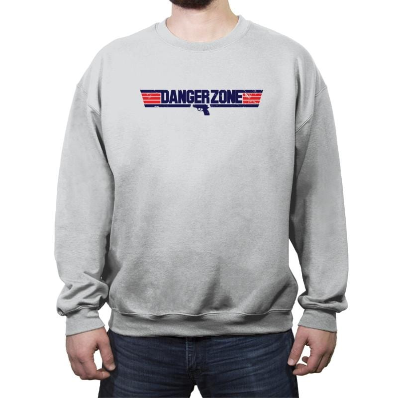 Into The Danger Zone Reprint - Crew Neck Sweatshirt - Crew Neck Sweatshirt - RIPT Apparel