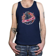 Life Finds A Way Exclusive - Tanktop - Tanktop - RIPT Apparel