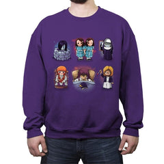 Horror Girls - Crew Neck Sweatshirt - Crew Neck Sweatshirt - RIPT Apparel