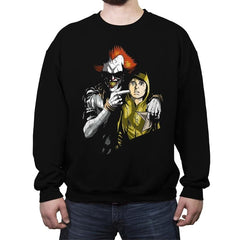 The Dancing Clown - Crew Neck Sweatshirt - Crew Neck Sweatshirt - RIPT Apparel