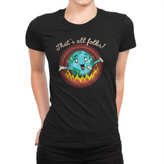 That's All, That's It - Womens Premium - T-Shirts - RIPT Apparel