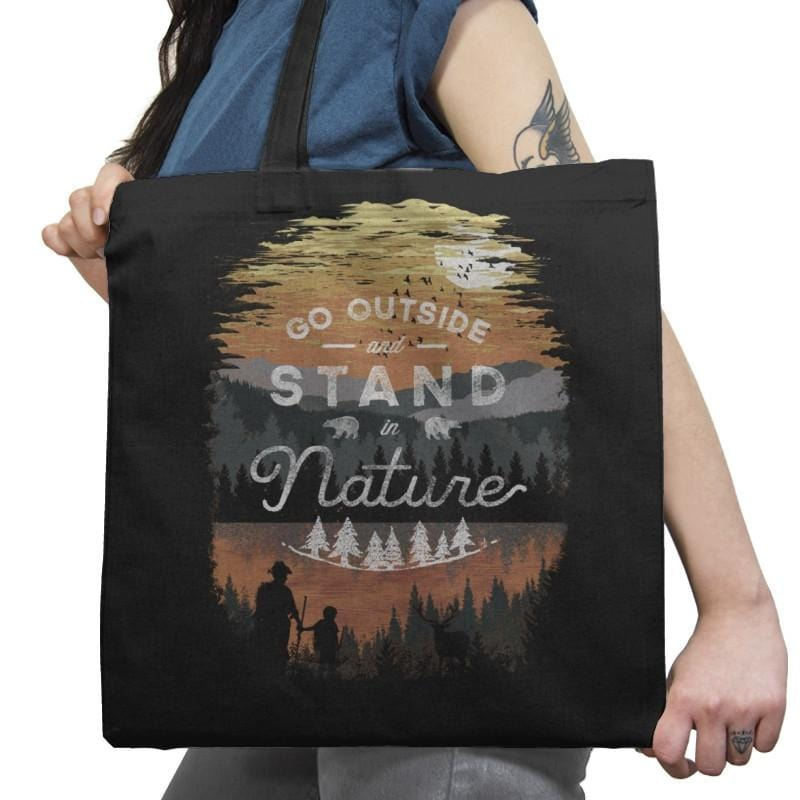 Go Outside - Back to Nature - Tote Bag - Tote Bag - RIPT Apparel