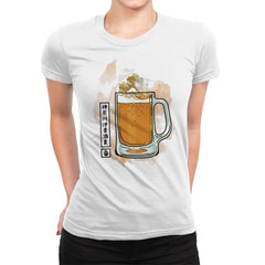 The great beer off Kanagawa - Womens Premium - T-Shirts - RIPT Apparel