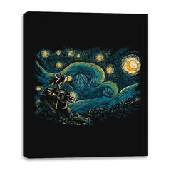 Starry Robot - Canvas Wraps - Canvas Wraps - RIPT Apparel