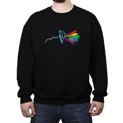 Morphin Side of the Zords Reprint - Crew Neck Sweatshirt - Crew Neck Sweatshirt - RIPT Apparel