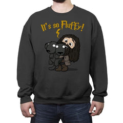 It's So Fluffy! - Raffitees - Crew Neck Sweatshirt - Crew Neck Sweatshirt - RIPT Apparel