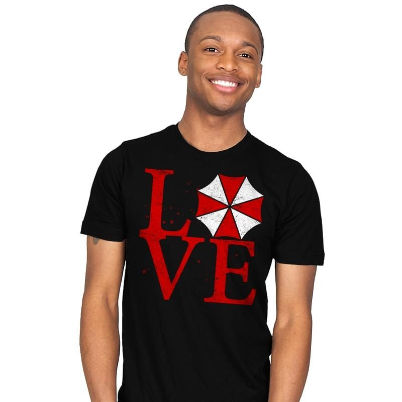Umbrella Love Exclusive - Dead Pixels - Mens - T-Shirts - RIPT Apparel